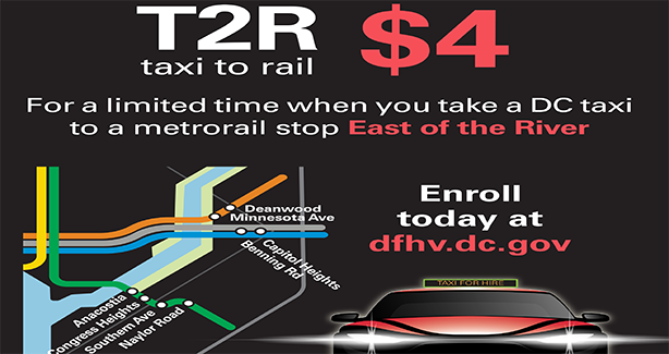 Taxi-to-Rail (T2R)