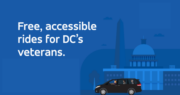 Free, accessible rides for DC's veterans.