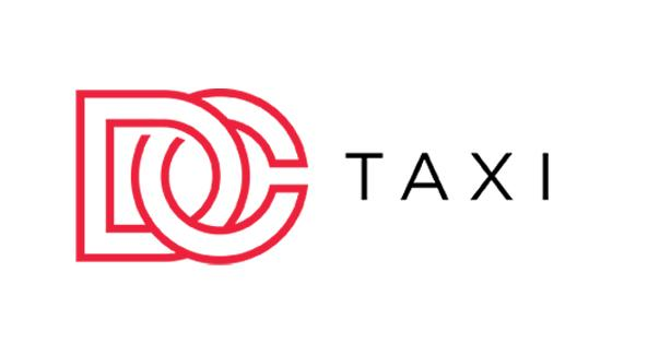 Red DC Taxi logo