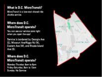 DC Microtransit Service Zone