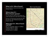 DC Microtransit Service Zone